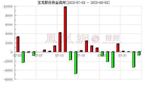玉龙股份(601028)资金流向分析图