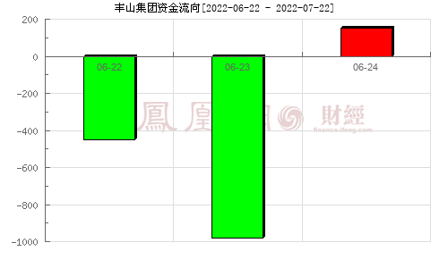 ST丰山(603810)资金流向分析图